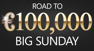 100K Big Sunday on Titan Poker