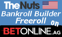 Bankroll Builder Freeroll July 12th on BetOnline