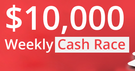 10K Weekly Cash Races
