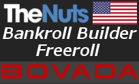 Bovada Bankroll Builder Freeroll August 16th