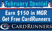 Free CardRunners This February