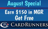 August CardRunners Offer