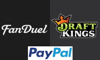 FanDuel, DraftKings now accepting PayPal