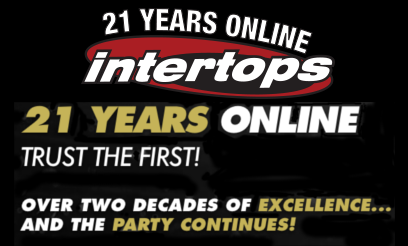 Intertops Celebrating 21 Years Online