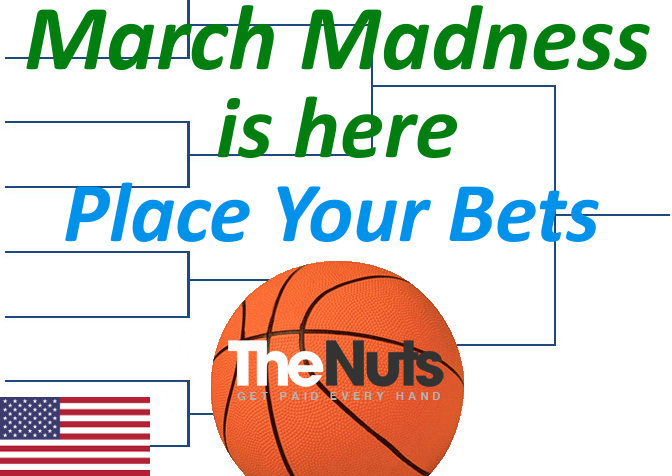 March Madness Place Your Bets
