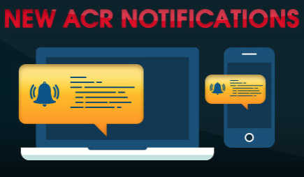 Notifications on ACR