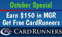 October CardRunners Offer