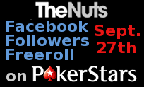 Facebook Followers Freeroll on PokerStars